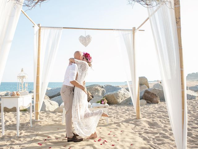 La boda de Iván y Irene en Canet De Mar, Barcelona 1