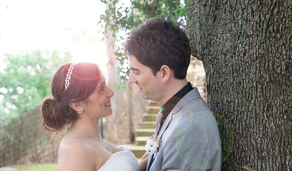La boda de Rubén y Andrea en Corbera De Llobregat, Barcelona