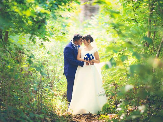 La boda de Jonathan   y Elizabet   en Ciriza, Navarra 1