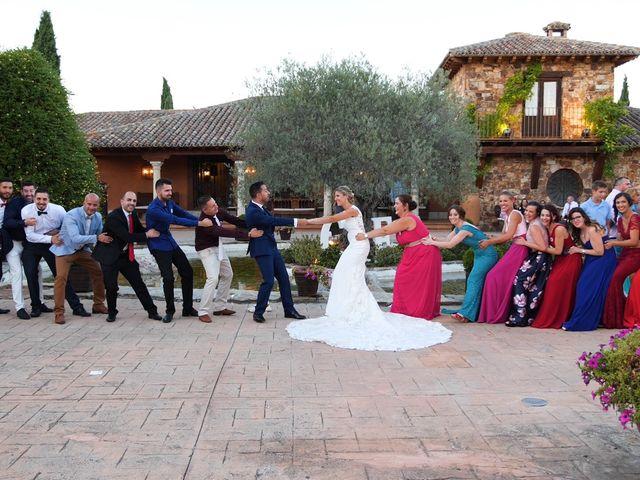 La boda de Raul y Giulia en San Agustin De Guadalix, Madrid 21