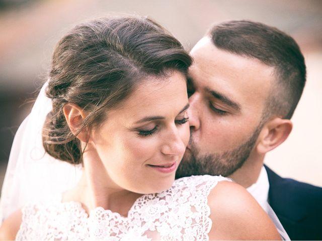 La boda de Agathe y Jonathan