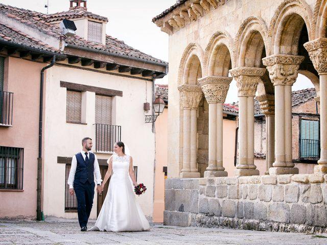 La boda de Jonathan y Agathe en Segovia, Segovia 32