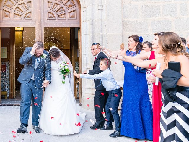 La boda de Jesús y Nieves en Galapagar, Madrid 39