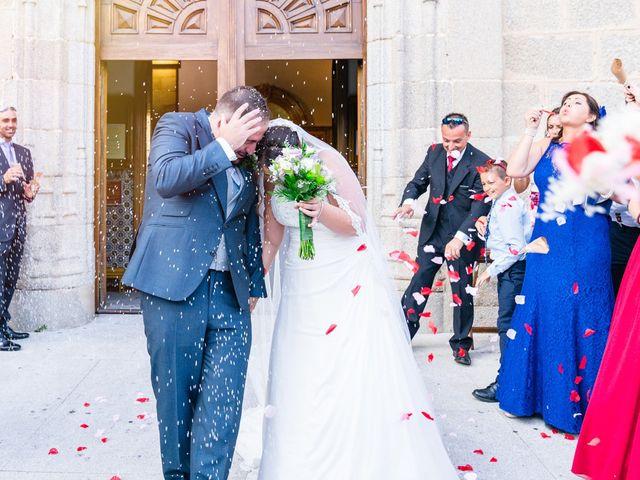 La boda de Jesús y Nieves en Galapagar, Madrid 40