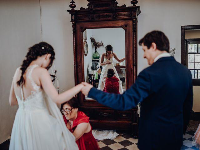 La boda de Ian y Jennifer en Sant Cugat Sesgarrigues, Barcelona 10