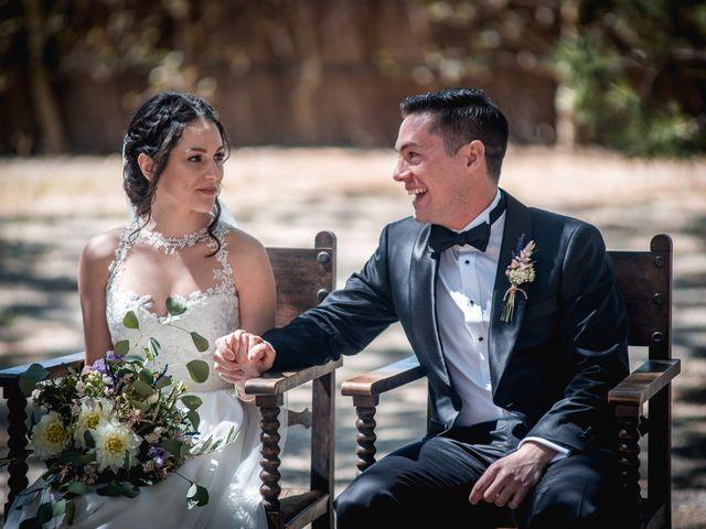 La boda de Ian y Jennifer en Sant Cugat Sesgarrigues, Barcelona 16