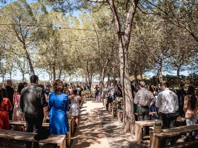La boda de Ian y Jennifer en Sant Cugat Sesgarrigues, Barcelona 17