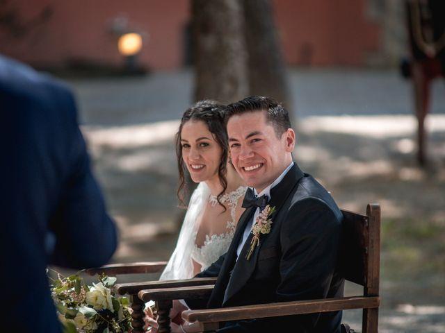 La boda de Ian y Jennifer en Sant Cugat Sesgarrigues, Barcelona 19