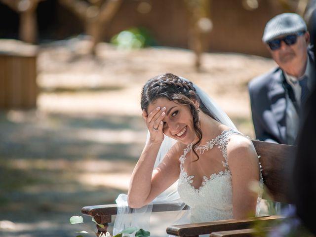 La boda de Ian y Jennifer en Sant Cugat Sesgarrigues, Barcelona 20