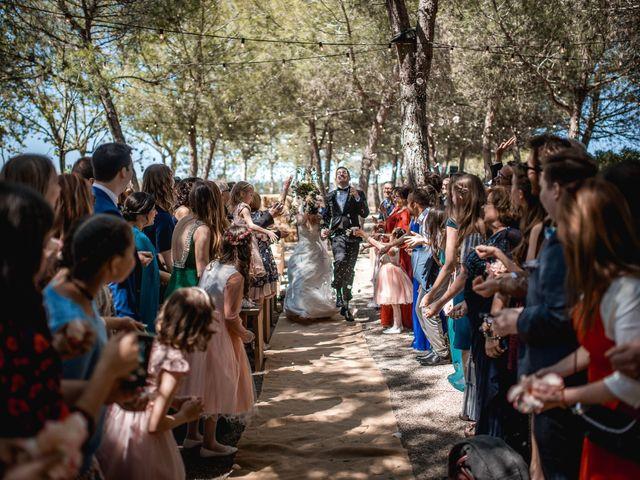 La boda de Ian y Jennifer en Sant Cugat Sesgarrigues, Barcelona 23