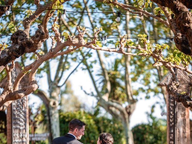 La boda de Ian y Jennifer en Sant Cugat Sesgarrigues, Barcelona 32