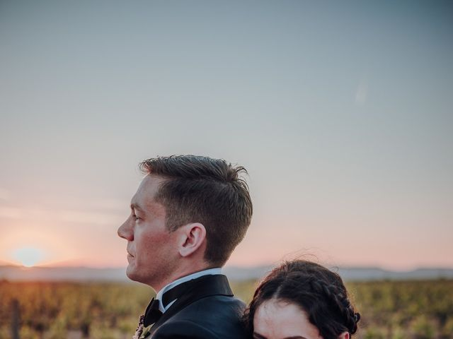 La boda de Ian y Jennifer en Sant Cugat Sesgarrigues, Barcelona 43