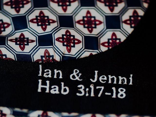 La boda de Ian y Jennifer en Sant Cugat Sesgarrigues, Barcelona 48
