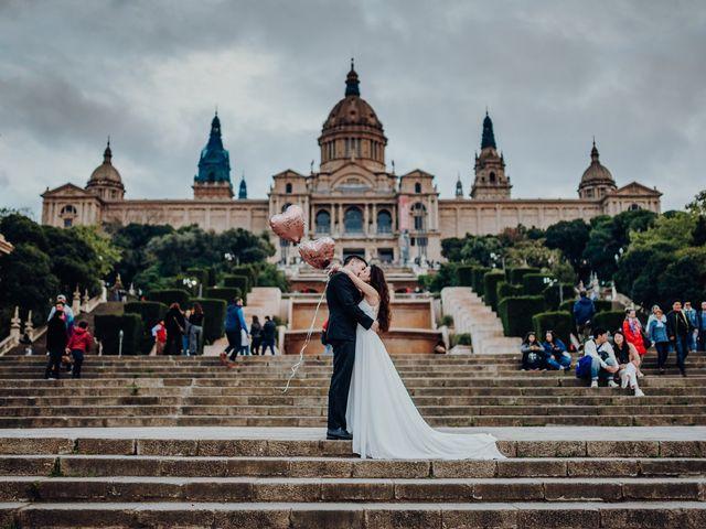 La boda de Ian y Jennifer en Sant Cugat Sesgarrigues, Barcelona 49