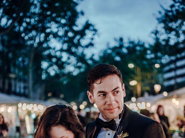 La boda de Ian y Jennifer en Sant Cugat Sesgarrigues, Barcelona 52