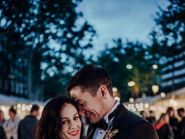 La boda de Ian y Jennifer en Sant Cugat Sesgarrigues, Barcelona 53