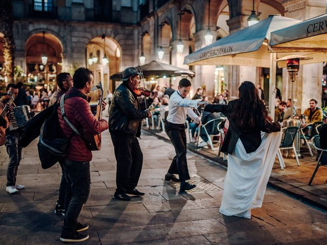 La boda de Ian y Jennifer en Sant Cugat Sesgarrigues, Barcelona 1