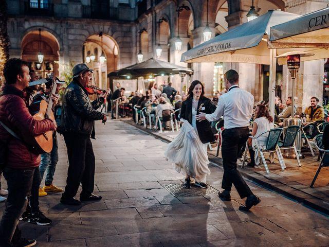La boda de Ian y Jennifer en Sant Cugat Sesgarrigues, Barcelona 54