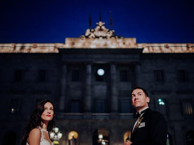 La boda de Ian y Jennifer en Sant Cugat Sesgarrigues, Barcelona 56