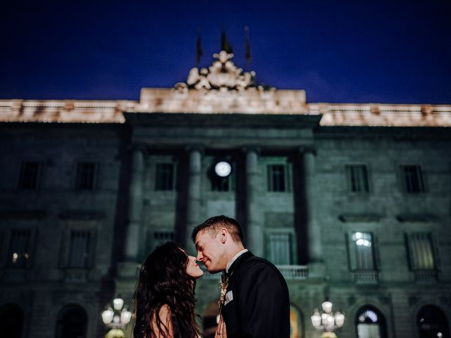 La boda de Ian y Jennifer en Sant Cugat Sesgarrigues, Barcelona 2