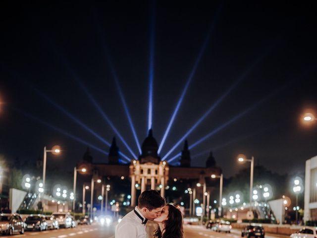 La boda de Ian y Jennifer en Sant Cugat Sesgarrigues, Barcelona 57