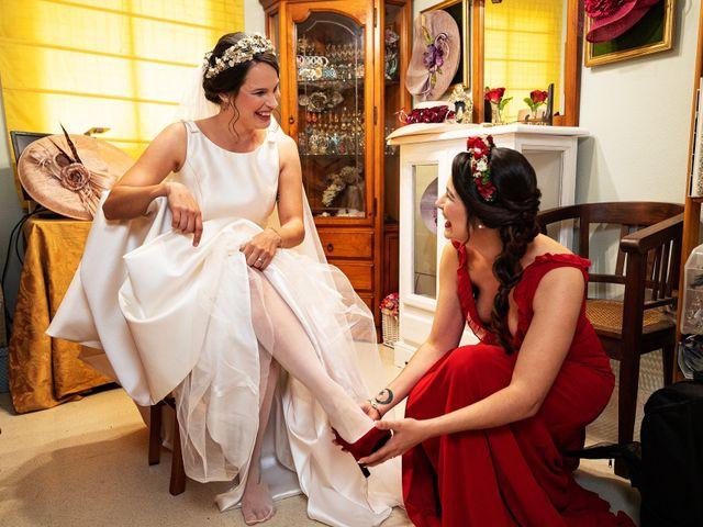 La boda de David y Elena en Alhaurin De La Torre, Málaga 1