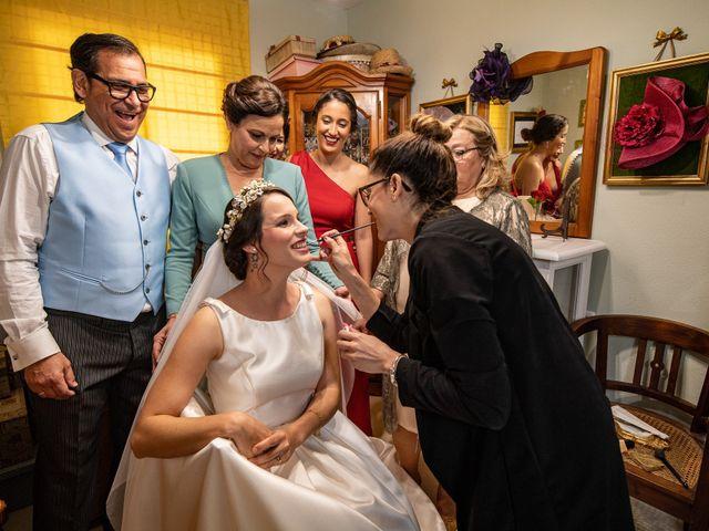La boda de David y Elena en Alhaurin De La Torre, Málaga 16