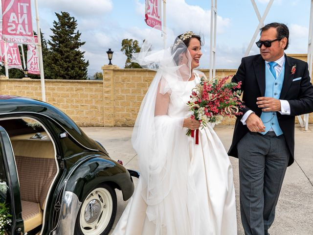 La boda de David y Elena en Alhaurin De La Torre, Málaga 21