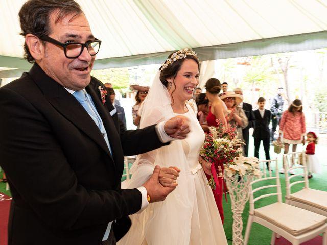 La boda de David y Elena en Alhaurin De La Torre, Málaga 27