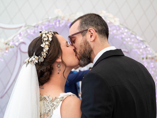 La boda de David y Elena en Alhaurin De La Torre, Málaga 46