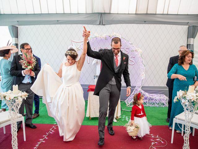 La boda de David y Elena en Alhaurin De La Torre, Málaga 51