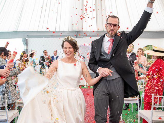 La boda de David y Elena en Alhaurin De La Torre, Málaga 53
