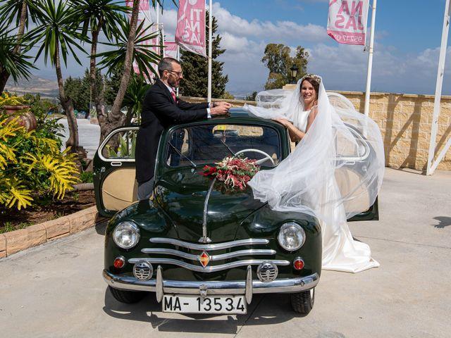 La boda de David y Elena en Alhaurin De La Torre, Málaga 57