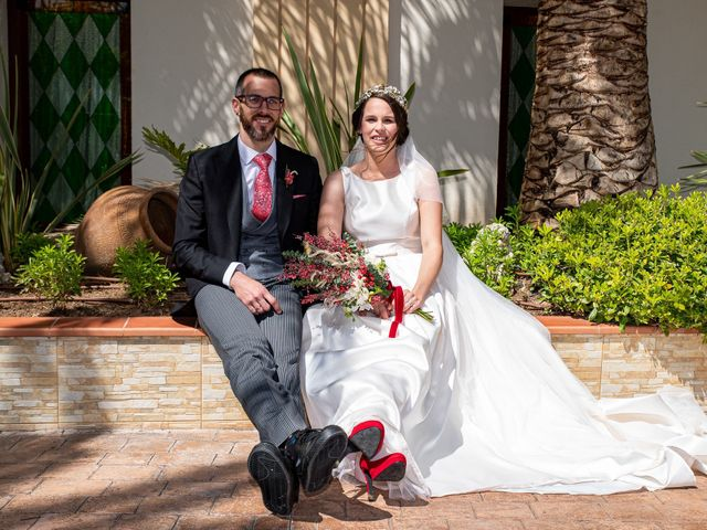 La boda de David y Elena en Alhaurin De La Torre, Málaga 61