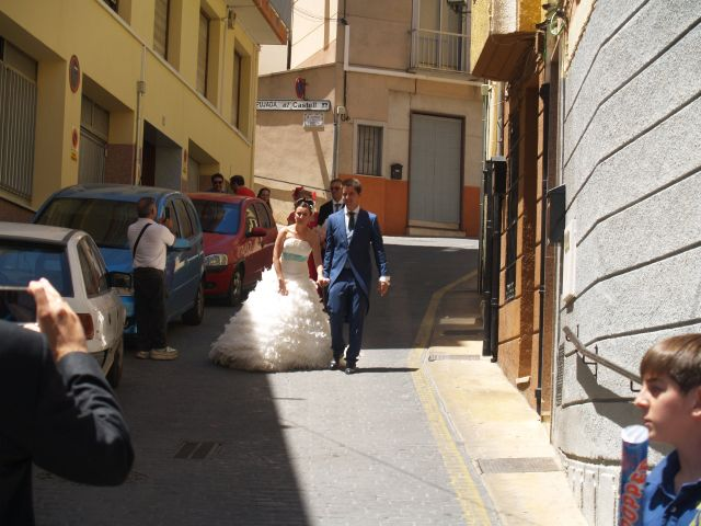 La boda de Juan Antonio y Adriana en Banyeres De Mariola, Alicante 3