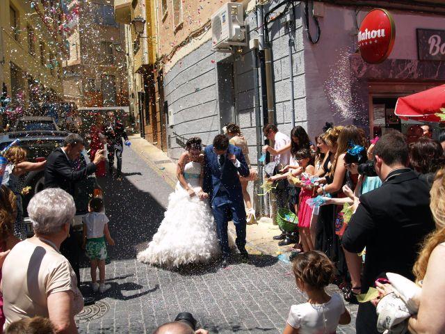 La boda de Juan Antonio y Adriana en Banyeres De Mariola, Alicante 13