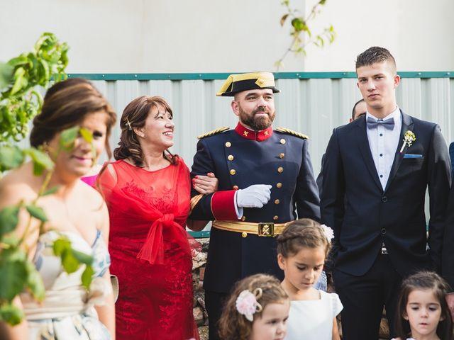 La boda de Luis y María en Valdastillas, Cáceres 9