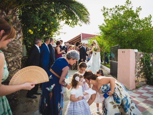 La boda de Luis y María en Valdastillas, Cáceres 12