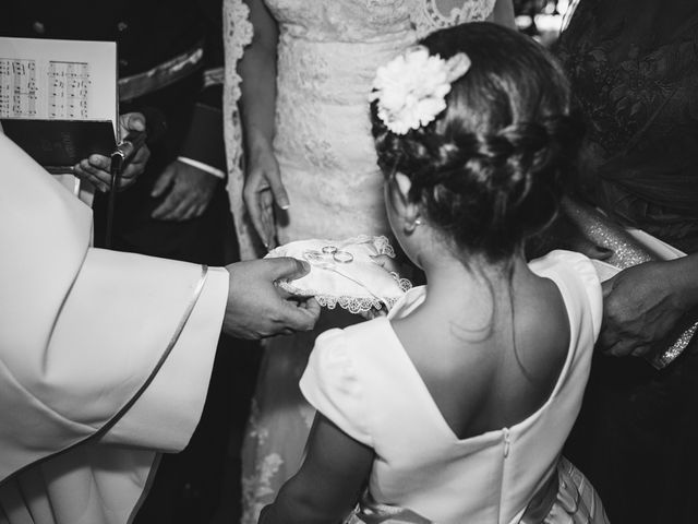 La boda de Luis y María en Valdastillas, Cáceres 24