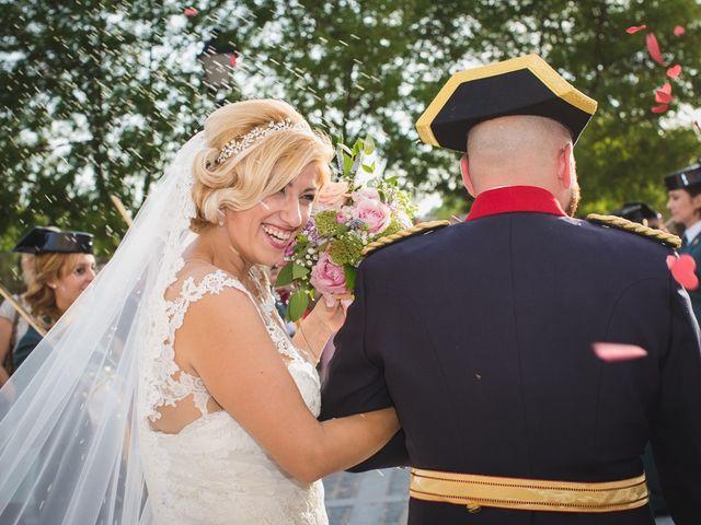 La boda de Luis y María en Valdastillas, Cáceres 32