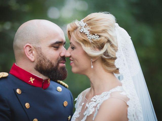 La boda de Luis y María en Valdastillas, Cáceres 37