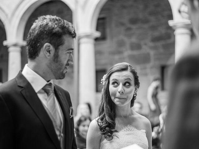 La boda de Antonio y Eva en Nogueira De Ramuin, Orense 7