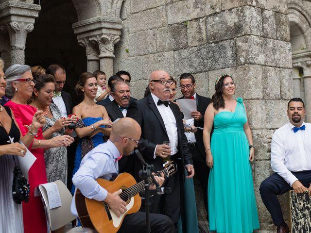 La boda de Antonio y Eva en Nogueira De Ramuin, Orense 9