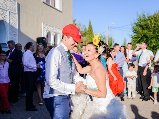 La boda de Juan Antonio y Adriana en Banyeres De Mariola, Alicante 16