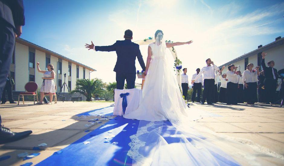La boda de Jonathan   y Elizabet   en Ciriza, Navarra