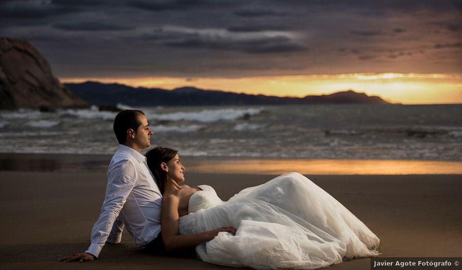La boda de David y Eneida en Elorriaga, Álava
