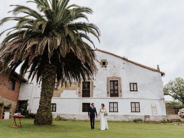 La boda de Pablo y María en Suances, Cantabria 1
