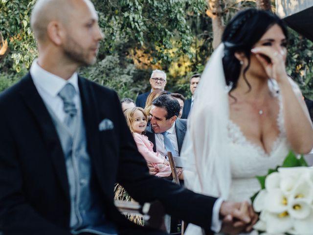 La boda de David y Rut en Vilamarxant, Valencia 16