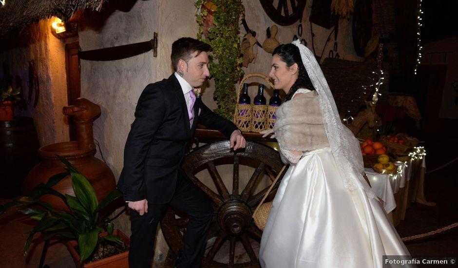 La boda de David y Lourdes en Beniajan, Murcia