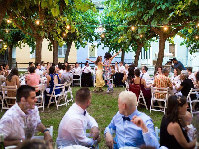 La boda de Pau y Meri Txell en Osor, Girona 31